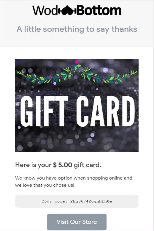 wodbottom gift card