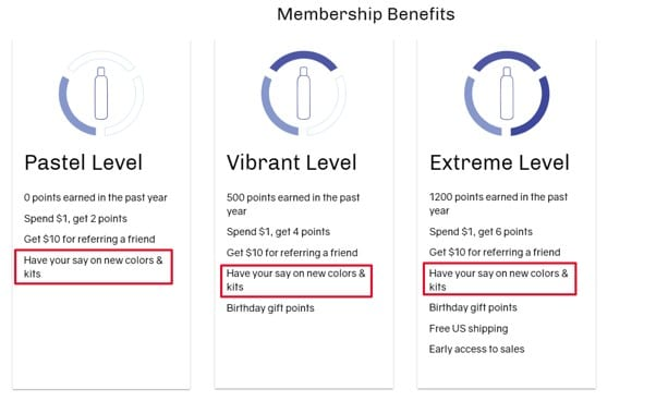 oVertone loyalty program special offer