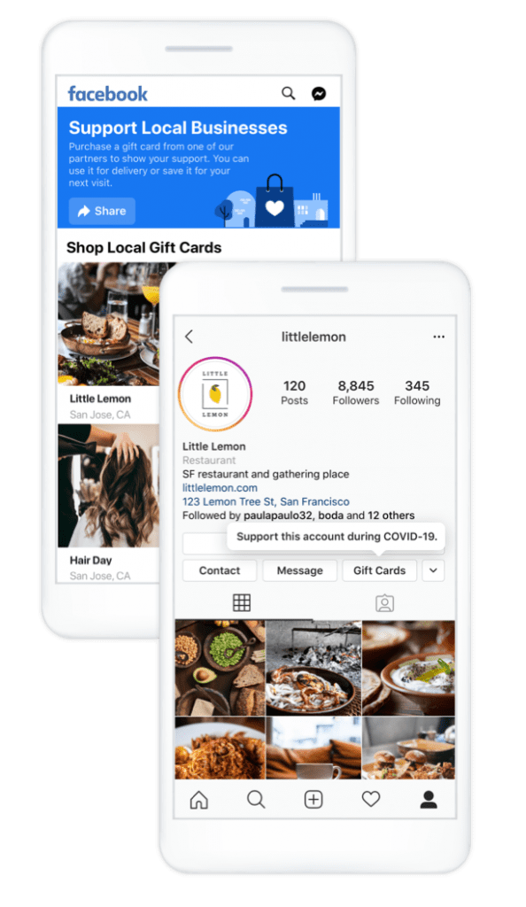 businesses instagram