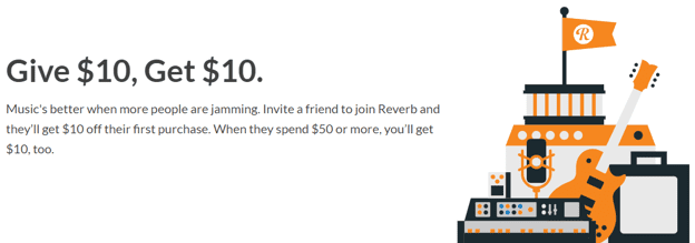 Reverb referral program